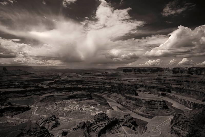 Thunder Cloud from Dead Horse Point, Utah