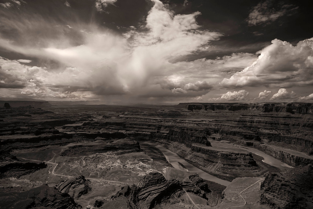 Thunder Cloud from Dead Horse Point, Utah