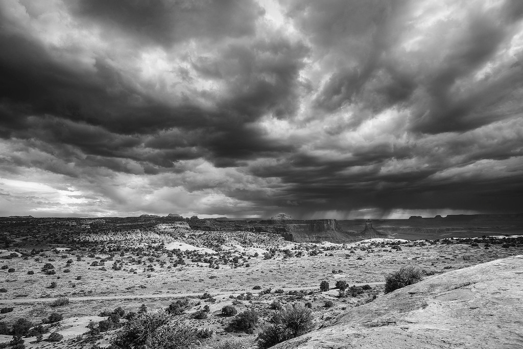 Storm over Island in the Sky Unit, Canyonlands NP, Utah