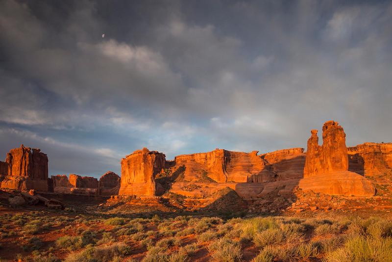 Sunrise, Arches National Park, Utah