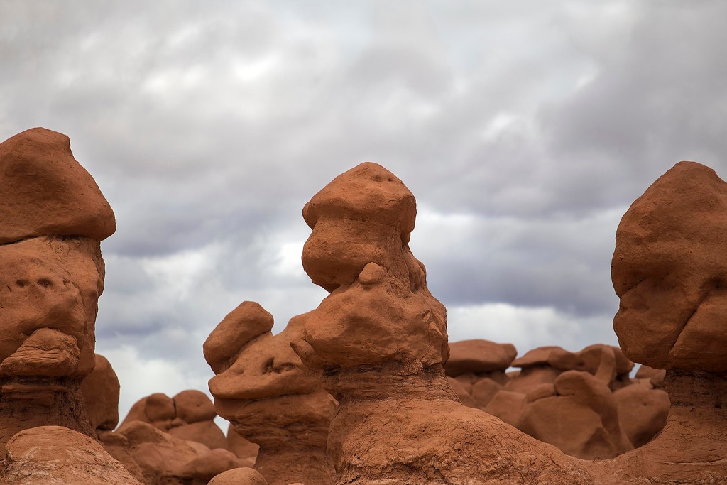 Rock Caricature, Goblin Valley State Park, Utah