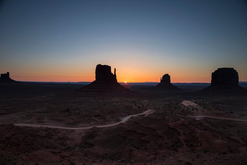 Sunrise, Monument Valley Navajo Tribal Park, Arizona