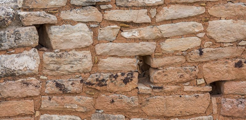 Stonework. Taken on the Little Ruin Trail in Hovenweep National Monument, Utah, USA.