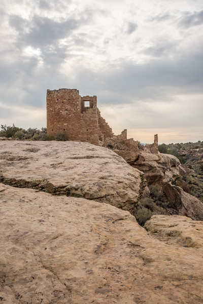 Hovenweep Castle. Taken on the Little Ruin Trail in Hovenweep National Monument, Utah, USA.