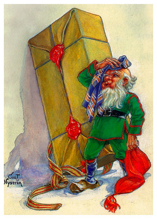 Vintage Holiday Card - image by Curt Nystrom