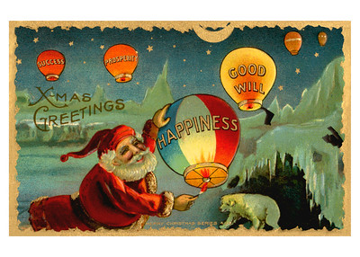 X-Mas Greetings Happiness, Success, Prosperity & Good Will