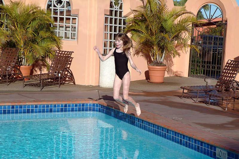 callie-pool-jump