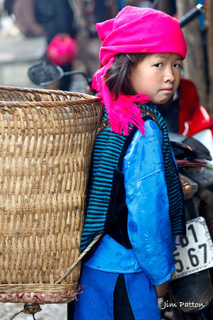 Girl in Market