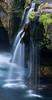 Lower Lewis Falls. Taken in the Gifford Pinchot National Forest, Washington, USA.