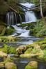 Big Spring Creek Falls. Taken in the Gifford Pinchot National Forest, Washington, USA.