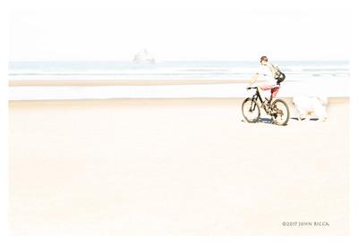 A Man, A Bike & A Dog