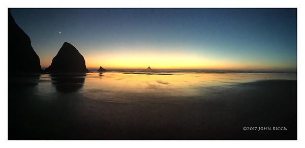 Arch Cape Panorama