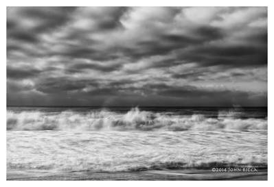 Ocean Impression 23 (b&w)
