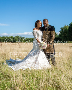 The wedding of Sinead and Mo