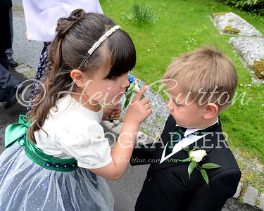 The marriage of Emma and Paul, 7th May 2016