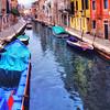 WBb44 Canal Boats, Venice, Italy