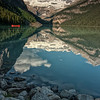 Lake Louise Reflections 1, Banff NP, Canada