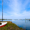 WBa380 - Silver Lake Boat, Ocracoke Is, NC