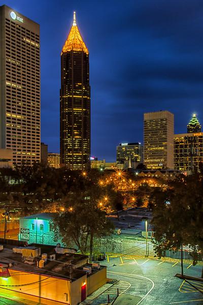 WBa586 Atlanta Skyline #4, Atlanta, GA