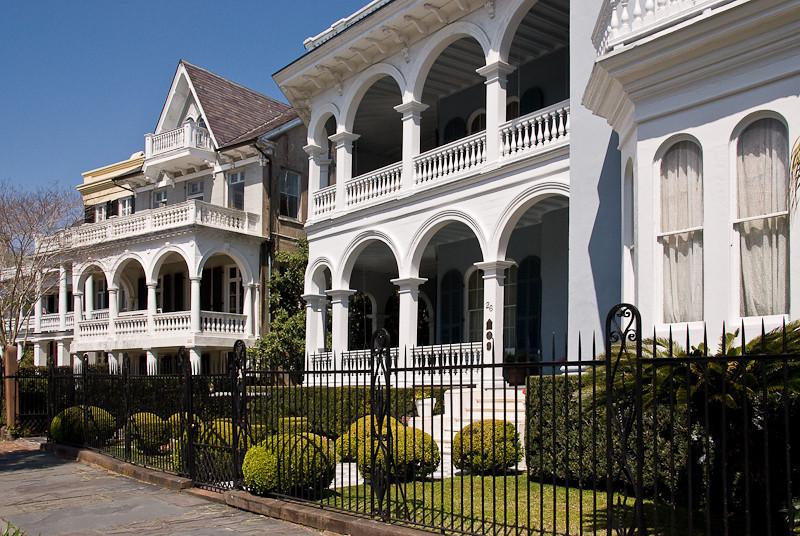 WBa93 - Southern Mansions, The Battery, Charleston, SC