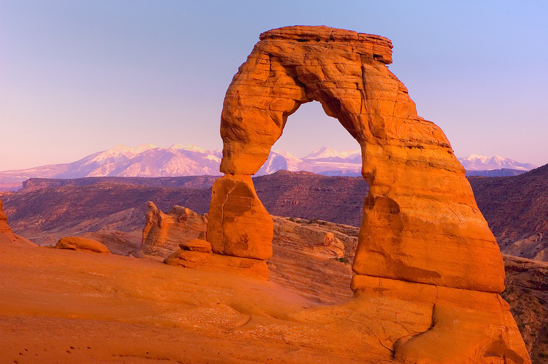 WAa 1582 - Delicate Arch, Arches National Park, Utah