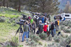 """""""Opt-Out""""<br /> <br /> Just one reason why I opted out of Yellowstone this spring. This crowd of photographers and other onlookers was gathered at the red fox (Vulpes vulpes) den at the Yellowstone Picnic Area. Sometimes there were even more folks! Taken in 2013 in Yellowstone National Park, Wyoming, USA."""