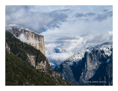 Clouds Over Yosemite Valley