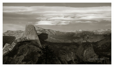 Lenticular Cloud & Half Dome 3