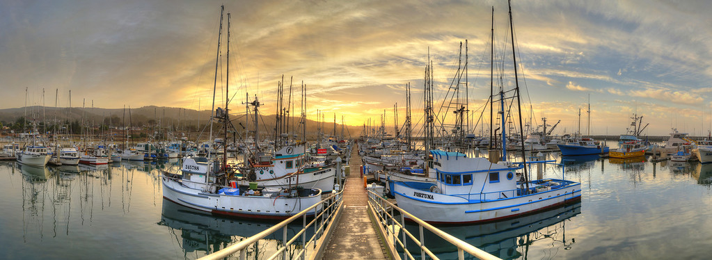 Pillar Point Harbor Sunrise #3, Half Moon Bay, CA