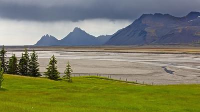 Jökulsá, Lónsvík - Island Jökulsá, Lónsvík - Iceland