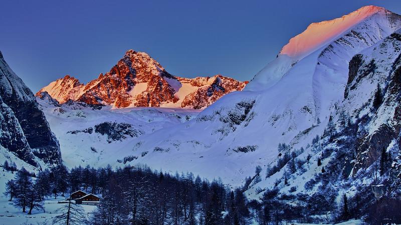 Großglockner (3.798 m),<br /> Nationalpark Hohe Tauern, Osttirol -  Österreich / Austria