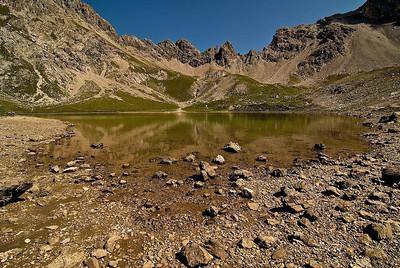 Stille in den Bergen - Steinsee bei Zams - Tirol, Österreich