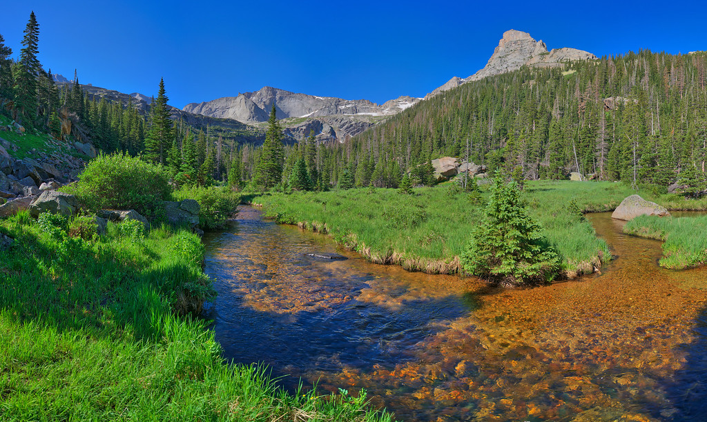 Glacier Gorge Meadow, Rocky Mountain National Park, CO