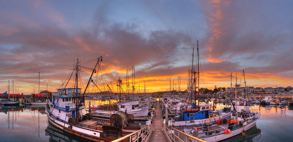 Pillar Point Harbor Sunset #6, Half Moon Bay, CA