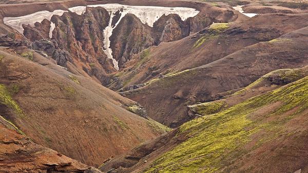 Kerlingarfjöll, Hochland - nahe der Kjölur - Island Kerlingarfjöll, Highlands of Iceland,  near the Kjölur   - mehr dazu im Blog: Island - 10 Tage, 10 Bilder