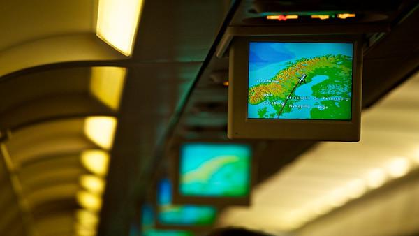 Flug nach Arvidsjaur - Lappland, Schweden  Flight to Arvidsjaur - Lappland, Sweden  - mehr dazu im Blog: Winter in Lappland