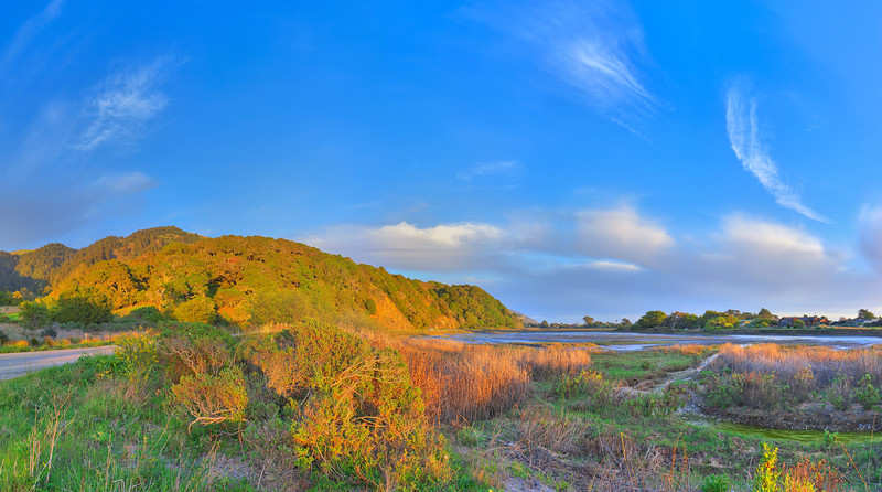 Lagoon near Bolinas, CA