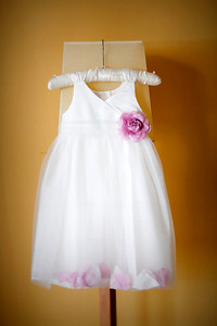 Flower girl's dress