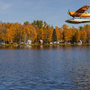 Lake Hood Anchorage Airport Fall View