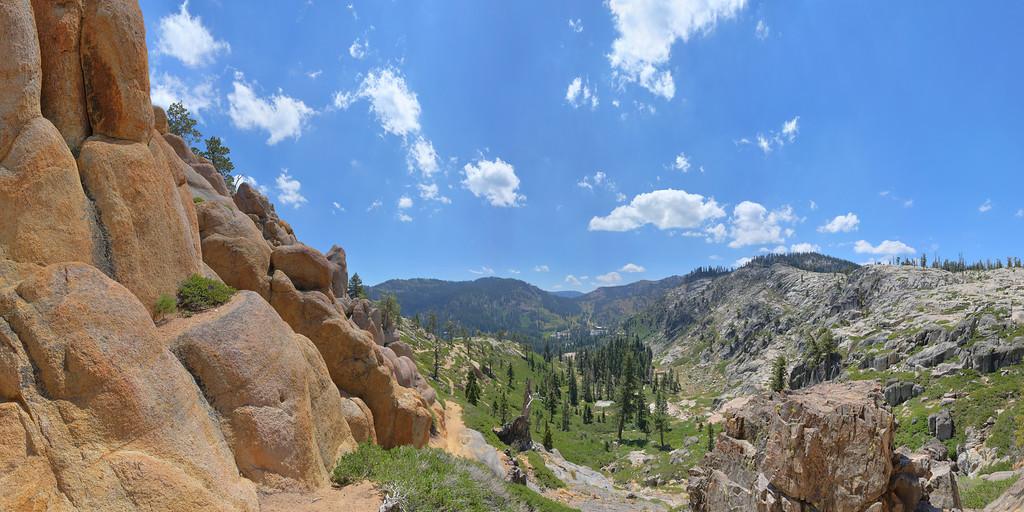 Five Lakes Trail, Lake Tahoe, CA