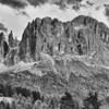 """Rosengarten - Dolomiten, Südtirol, Italien<br /><br />  Rosengarten - Dolomites, South Tyrol, Italy<br /><br /> - mehr dazu im Blog: <br /><a href=""""http://arnohelfer.wordpress.com/2013/02/24/dolomiten-in-schwarzweis/"""">Dolomiten in Schwarzweiß</a><br />"""