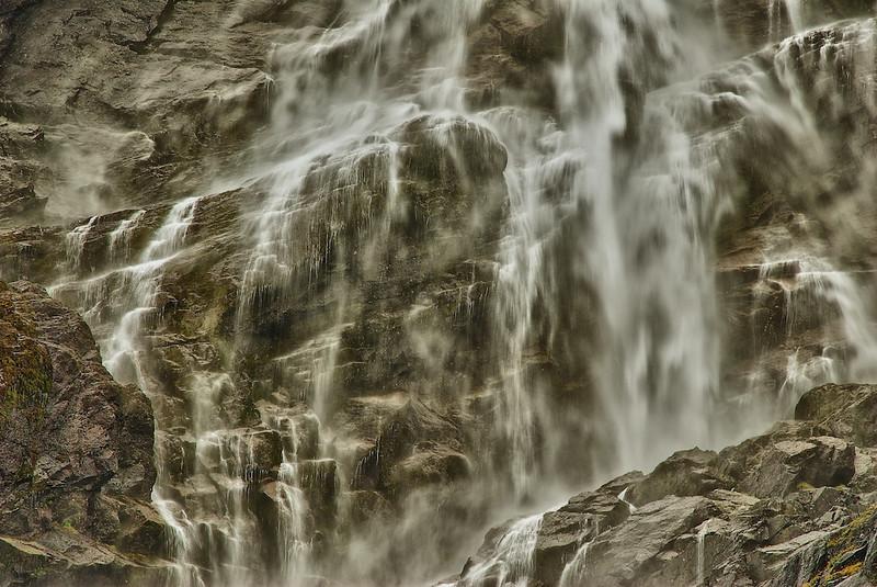 Wasserfall am Melkevoll Bretun - Norwegen