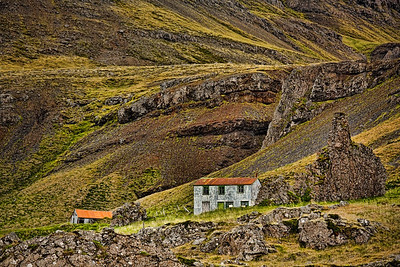 Hof in den Ostfjorden - Island Farm in the East Fjords - Iceland   - mehr dazu im Blog: Island - 10 Tage, 10 Bilder