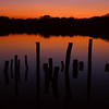 Sonnenuntergang am Fermasee - Rheinstetten Deutschland / <br /> Sunset at Fermasee - Rheinstetten - Germany