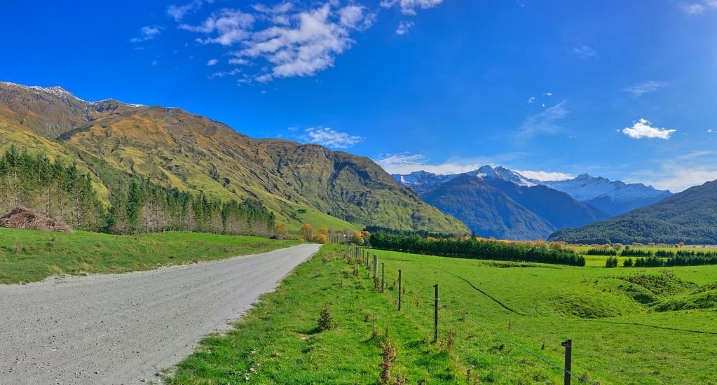 Wanaka-Mount Aspiring Road Vista #2, South Island, New Zealand