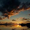 Sonnenuntergang am Kallsjön bei Konäs - Jämtland, Schweden<br /> Sunset at Lake Kallsjön near Konäs - Jämtland, Sweden