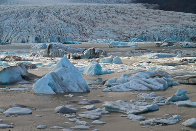Gletscherlagune Breiðárlón - Island Glacier Lagoon Breiðárlón - Iceland