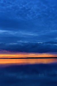 Sunset in Småland - Oknö, Sweden