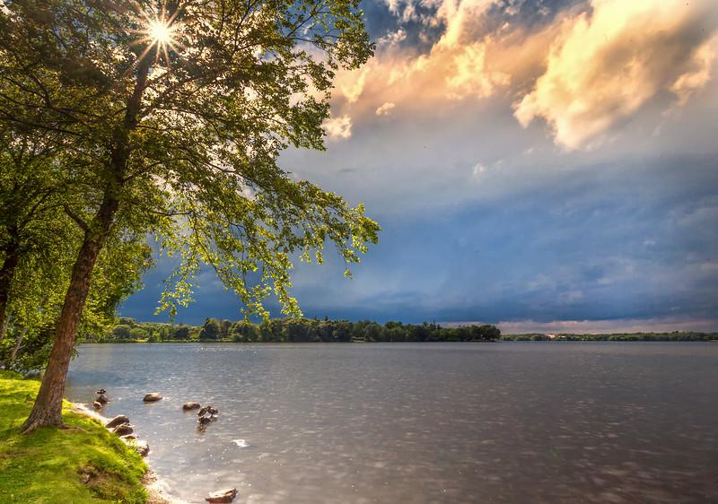 Stormy Sunburst