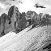"""Drei Zinnen - Dolomiten, Südtirol, Italien<br /><br />  Tre Cime di Lavaredo - Dolomites, South Tyrol, Italy<br /><br /> - mehr dazu im Blog: <br /><a href=""""http://arnohelfer.wordpress.com/2013/02/24/dolomiten-in-schwarzweis/"""">Dolomiten in Schwarzweiß</a><br />"""